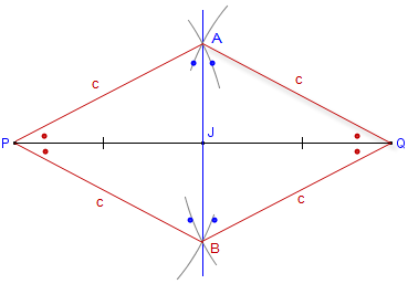 how to draw perpendicular bisector