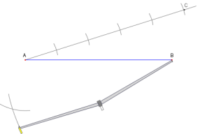 Printable Instructions For Dividing A Line Segment Into Equal Parts