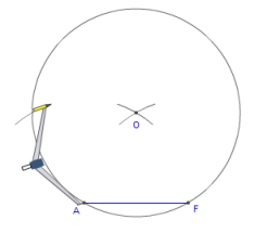 how to draw circle without compass
