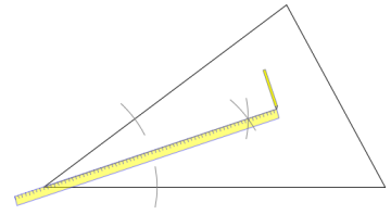 Printable Instructions For Finding The Incenter Of A Triangle With