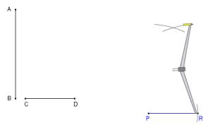 Κατασκευή Γεωμετρία με πυξίδα και straightedge ή κυβερνήτης ή κυβερνήτης